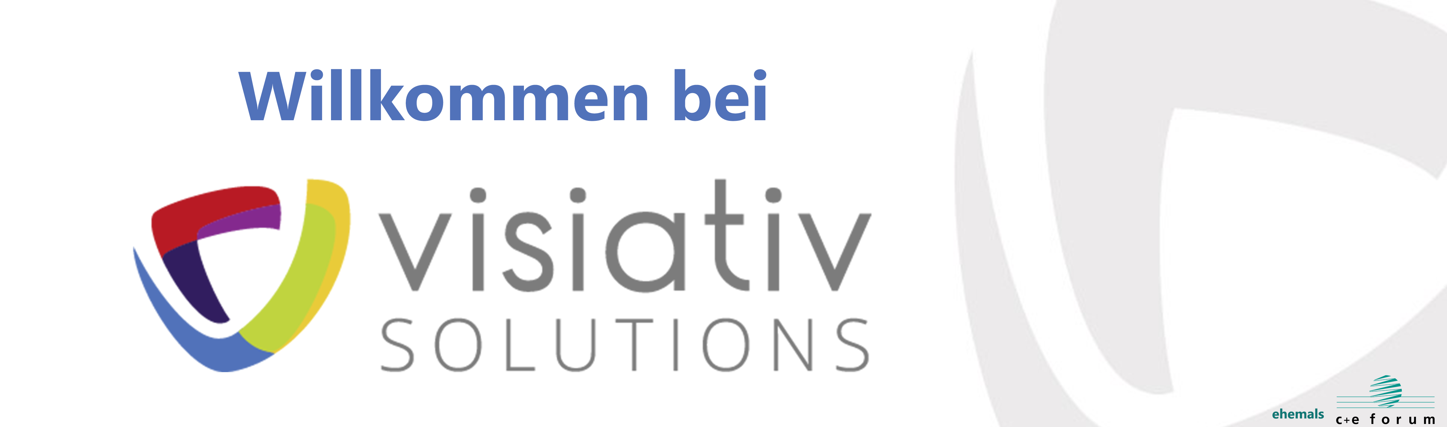 Welcome to Visiativ Solutions Switzerland