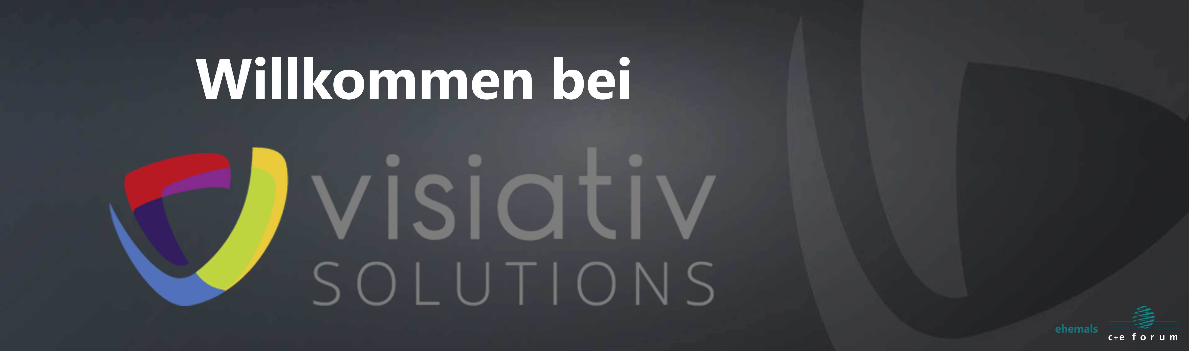 Welcome to Visiativ Solutions